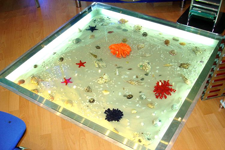 Сухой аквариум в полу своими руками 80