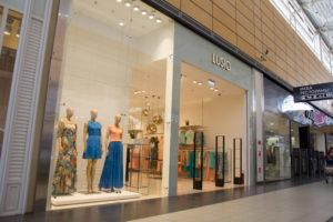 Магазин одежды в MEGA