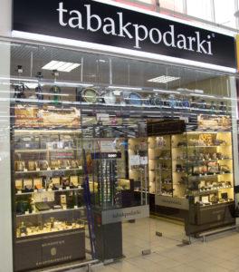 Стеклянная перегородка TabakPodarki
