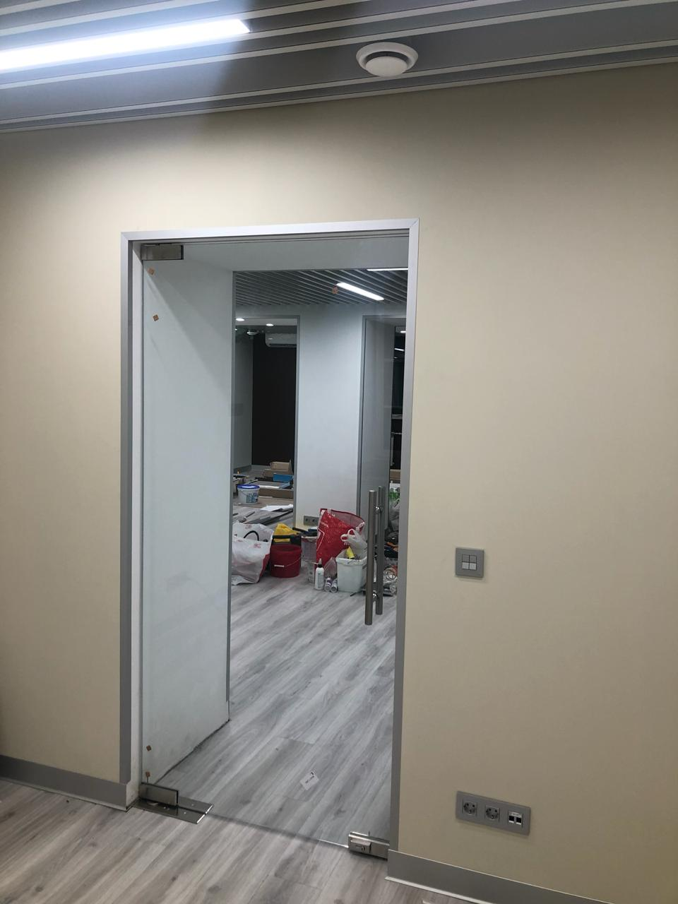 Дверь маятниковая